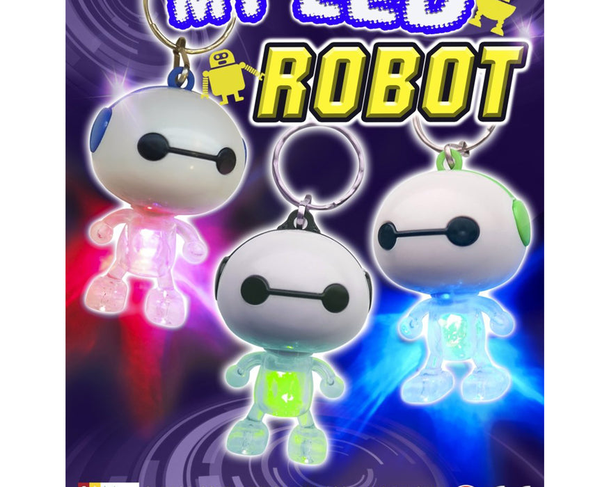 My LED Robot (x500) 50mm Vending Prize Capsules