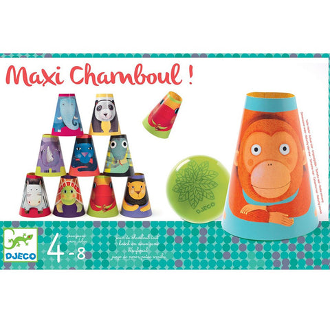 KNOCK-EM-OVER GAME - Maxi Chamboul