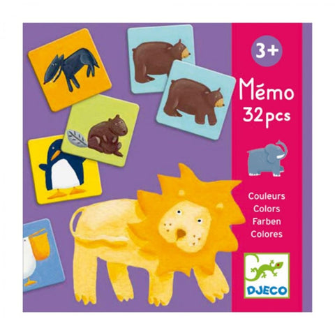 EDUCATIONAL GAMES - Colour animals memo