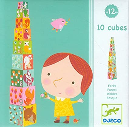 BLOCKS FOR INFANTS - Cubes Fôret