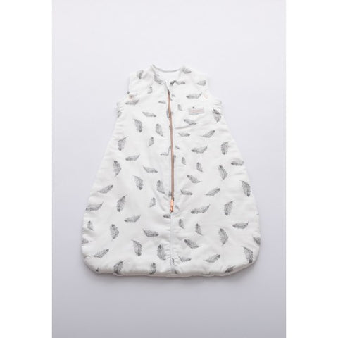 SACCO NANNA NEONATO MINI - 0-6 MESI - 75CM - TOG 2.2 - PRINT - FEATHER