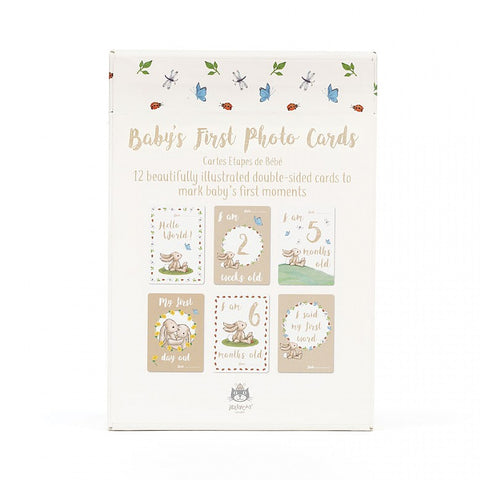"Jellycat Baby Cards ""Le mie prime volte"""