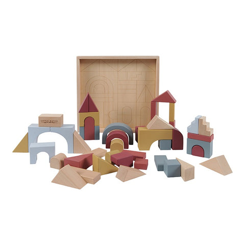 Lista#022 | Wooden building blocks Pure & Nature