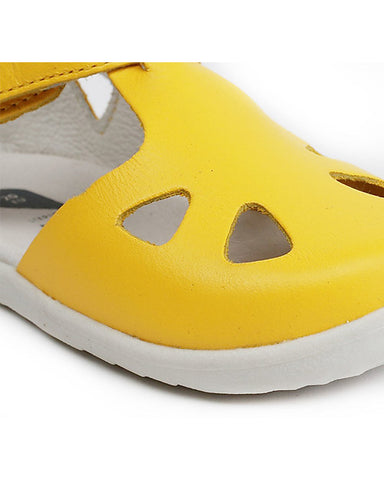 Sandalino Step-Up Zap - Giallo- Super flessibile per i primi passi!