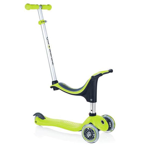 Monopattino Evolutivo My Free Seat 4 in 1 Verde 1-6 Anni