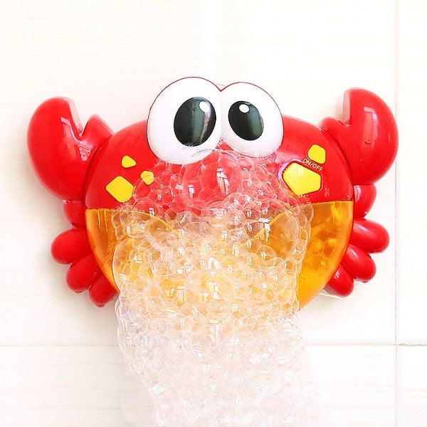 Mr. Musical Bubble Bath Crab