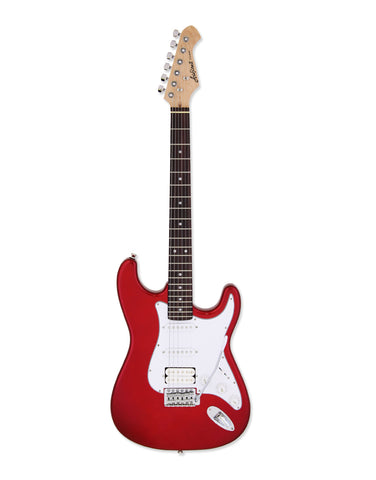 Aria STG 4 candy apple red electric guitar