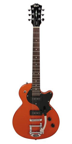 Cort Sunset junior electric guitar - orange sparkle finish