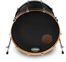 Evans EQ3 Reso Black 22""