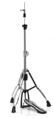 Mars Double Braced 3-Leg Hi-Hat Stand - Chrome H600