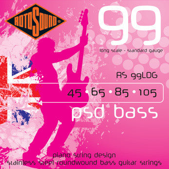 RS99 LDG 4 String Bass Guitar Strings