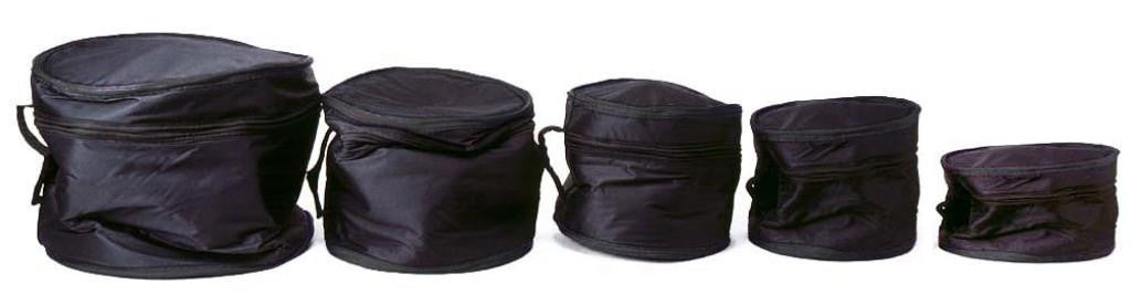 Drum bag set - 5 piece padded bags
