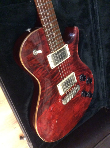 PRS Single Cut USA black cherry