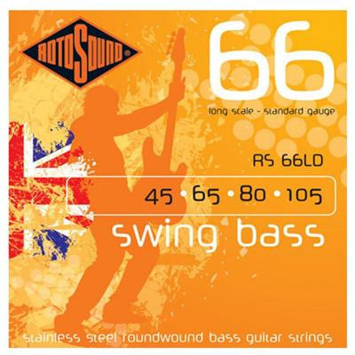 RS66LD Long Scale Standard Guage Bass Strings