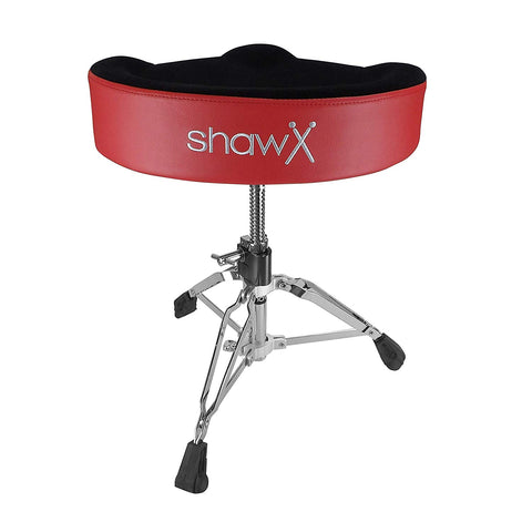 Drum throne saddle type