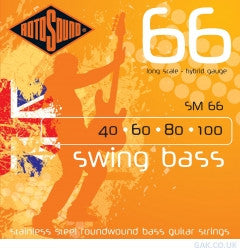 SM66 40 60 80 100 Bass Strings