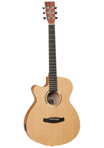 Tanglewood Roadhouse electro acoustic left handed guitar
