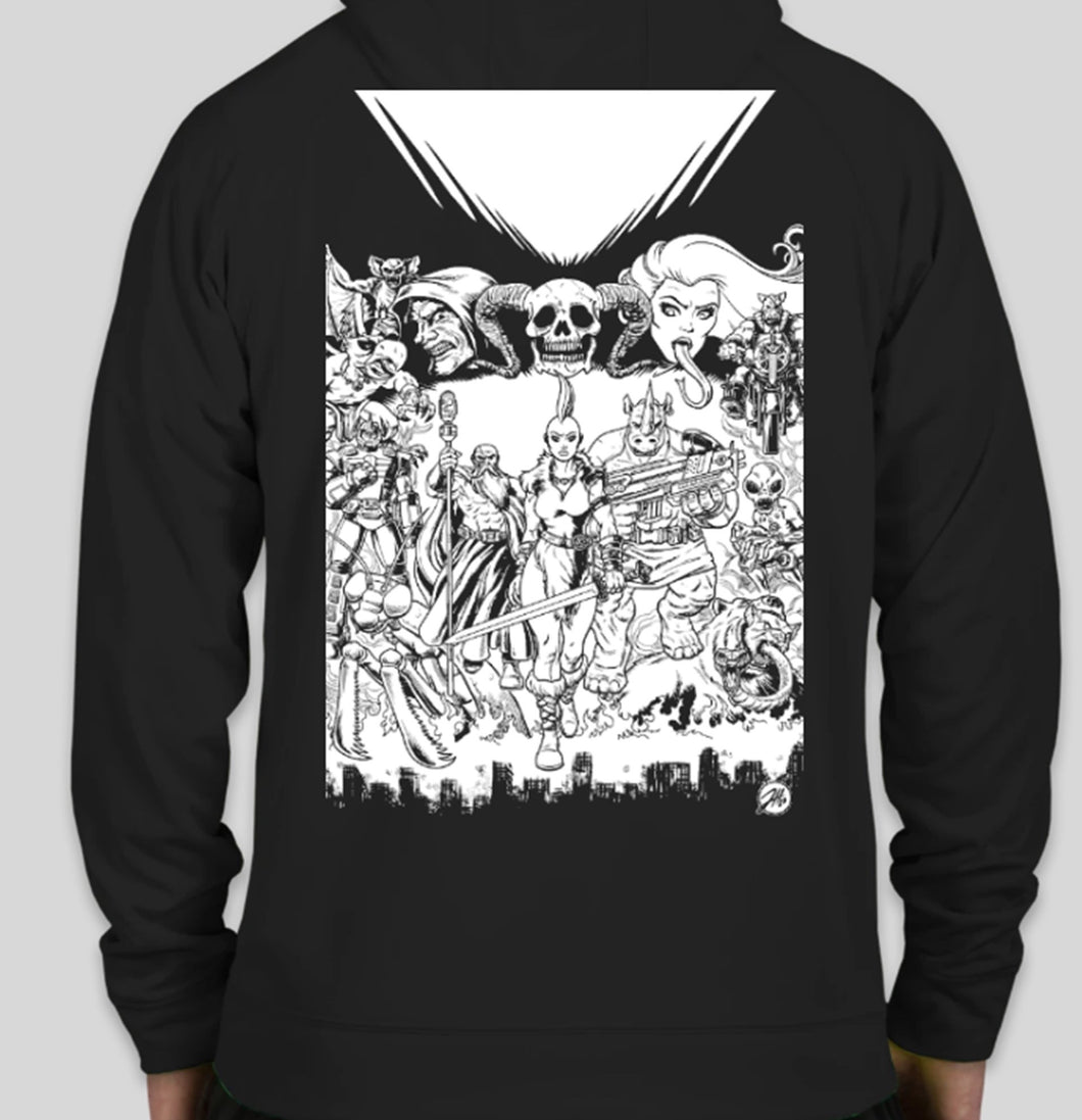 Barbarians of the Ruined Earth Hoodie