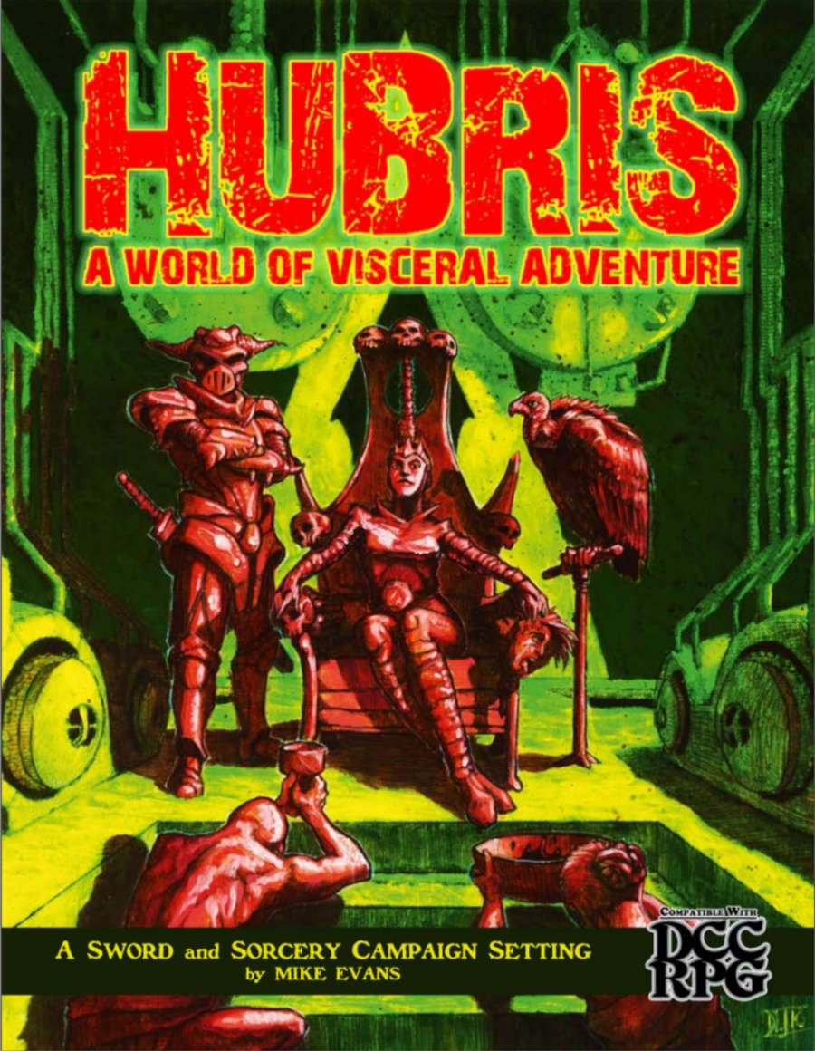 Hubris: A World of Visceral Adventure (signed) Standard Edition Hardcover