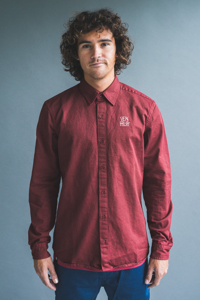 Venour Shirt Bordeaux