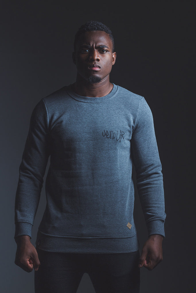 The Basic Sweater Grey melange