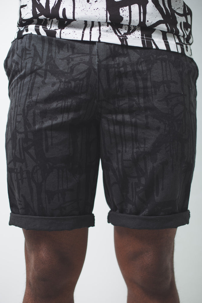 Dripping Short Black
