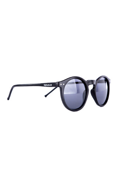 Ra - Black round sunglasses