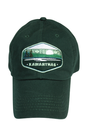 Kawarthas Patch Dad Hat - Forest