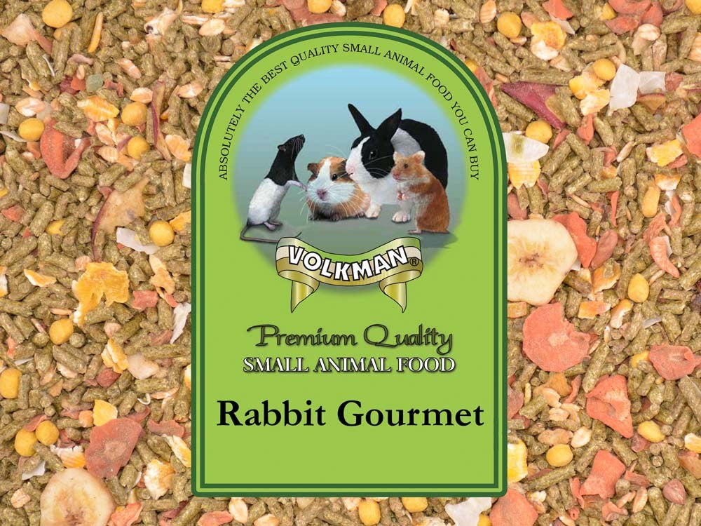 Volkman Seed Small Animal Rabbit Gourmet 4lb