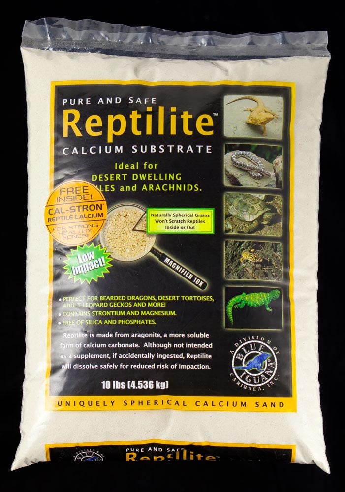 CaribSea All Natural Reptile Calcium Substrate Natural 10lb