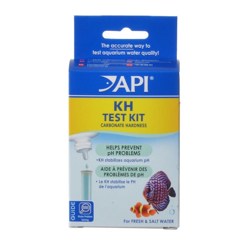 API Carbonate Test Kit - Fresh & Saltwater - Carbonate Test Kit