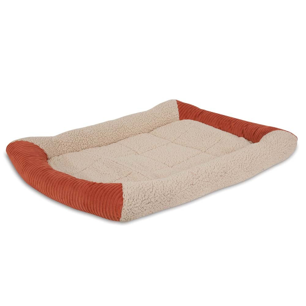 Aspen Pet Self Warming Bolster Mat Barn Red 36.5X23.5