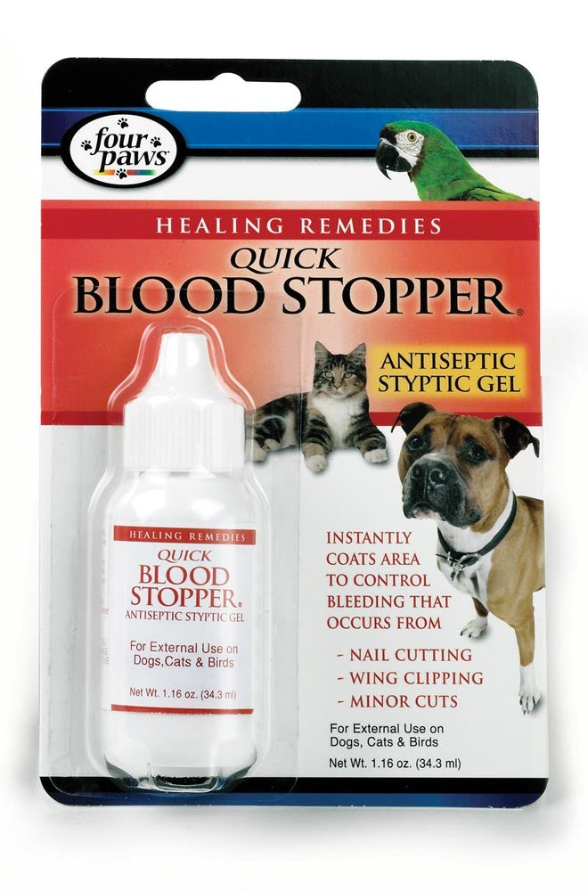 Four Paws Quick Blood Stopper Gel 1.16oz