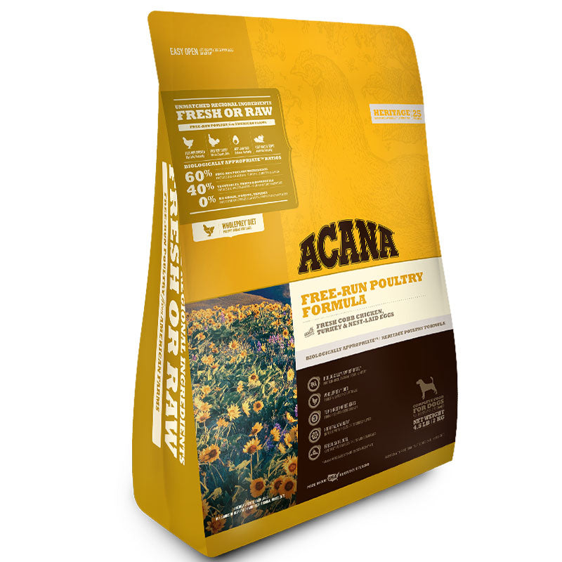 Acana Dog Grain Free Heritage Free Run Poultry 4.5lb