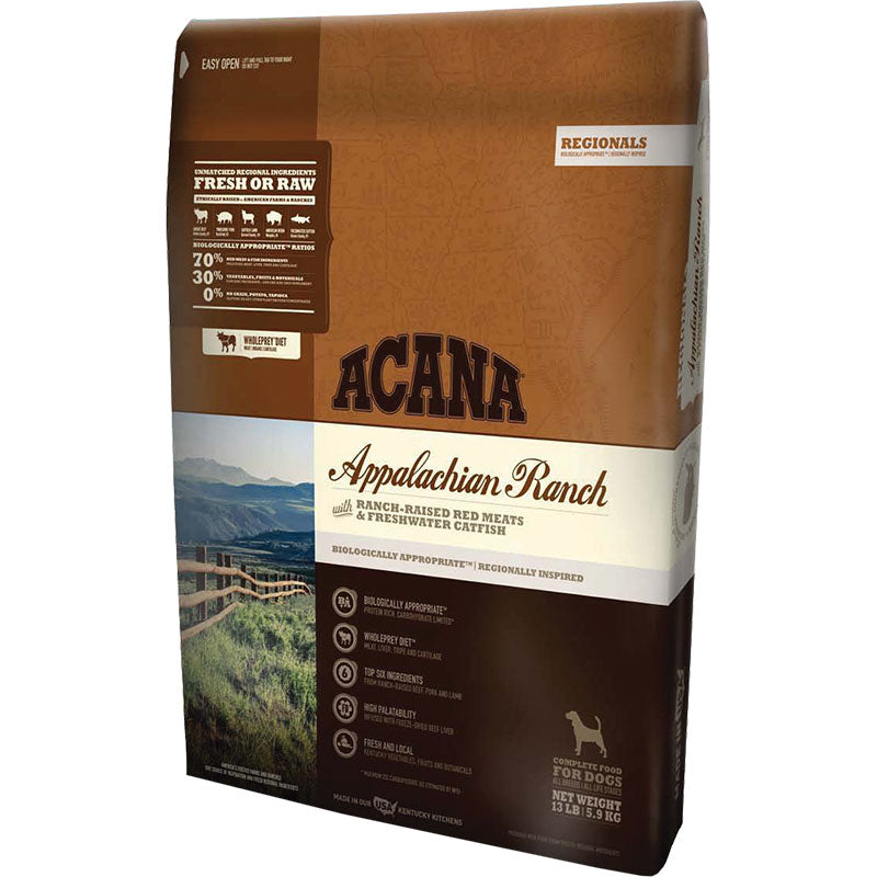 Acana Dog Grain Free Appalachian Ranch 25lb