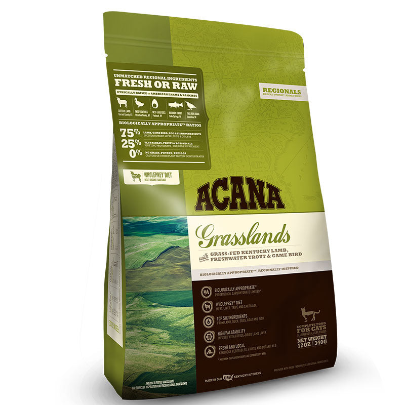 Acana Grain Free Cat Regional Grasslands 12oz