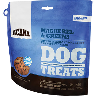 Acana Dog Singles Treat Wild Mackeral 3.25oz