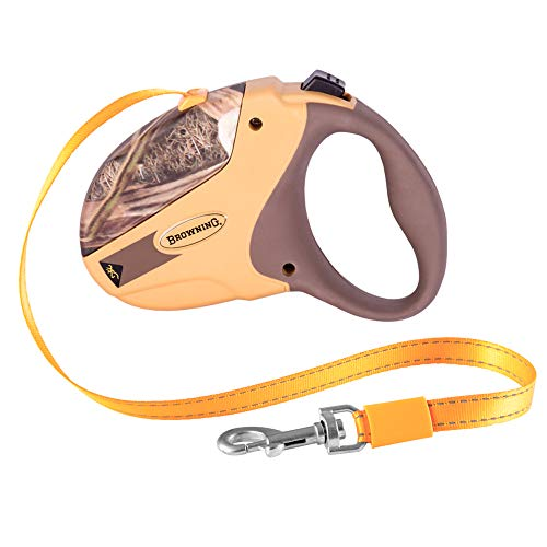 Browning Retractable Dog Leash | Shadow Grass Blades | Medium