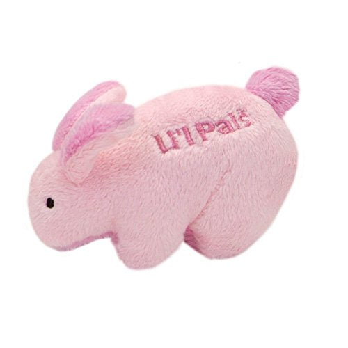 Lil' Pals Plush Small Dog/Pet Toy w/Squeaker (Bunny Rabbit)