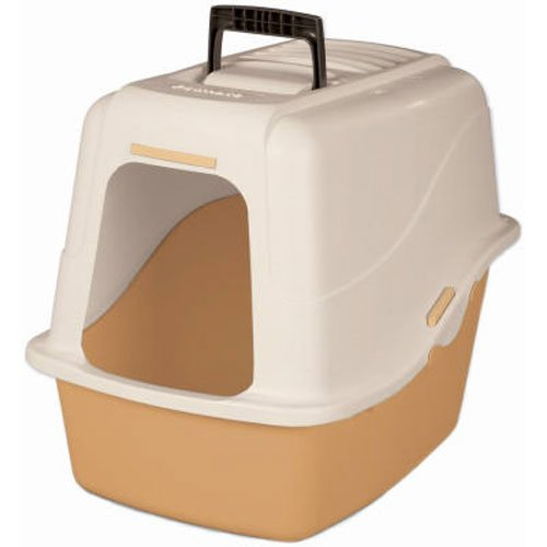 Petmate 22027 Hooded Litter Pan Set, Large