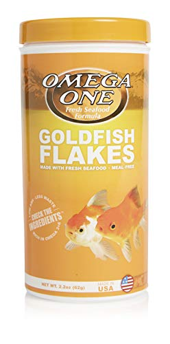 Omega One Goldfish Flakes 2.2 oz
