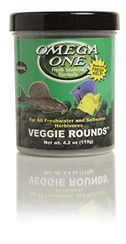 Omega One Veggie Rounds, 14mm Rounds, Sinking, 4.2 oz Container
