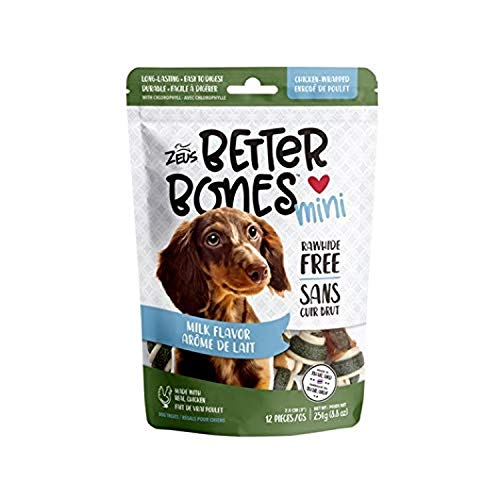 Zeus BetterBones, Milk/Chicken,Mini,12pk