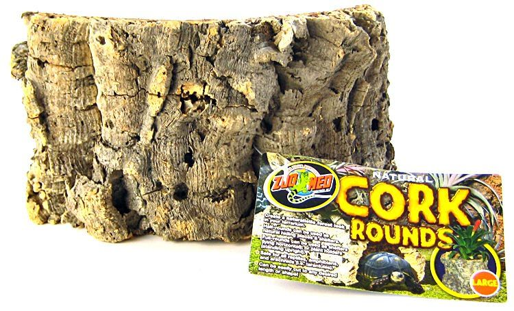 "Zoo Med Natural Cork Rounds - Large (8""-13"" Long)"