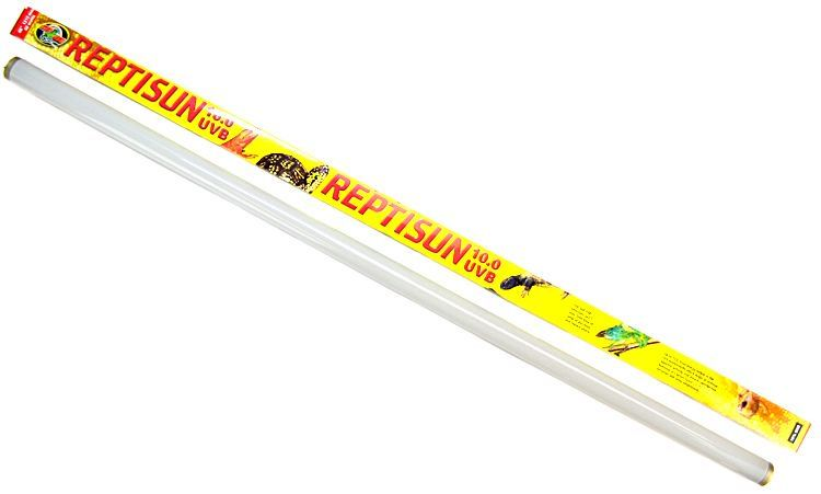 "Zoo Med ReptiSun 10.0 UVB Replacement Bulb - 32 Watts T8 (48"" Bulb)"