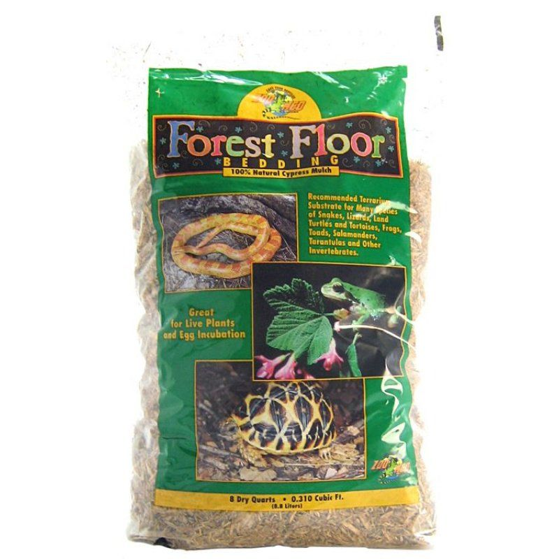 Zoo Med Forrest Floor Bedding - All Natural Cypress Mulch - 8 Quarts