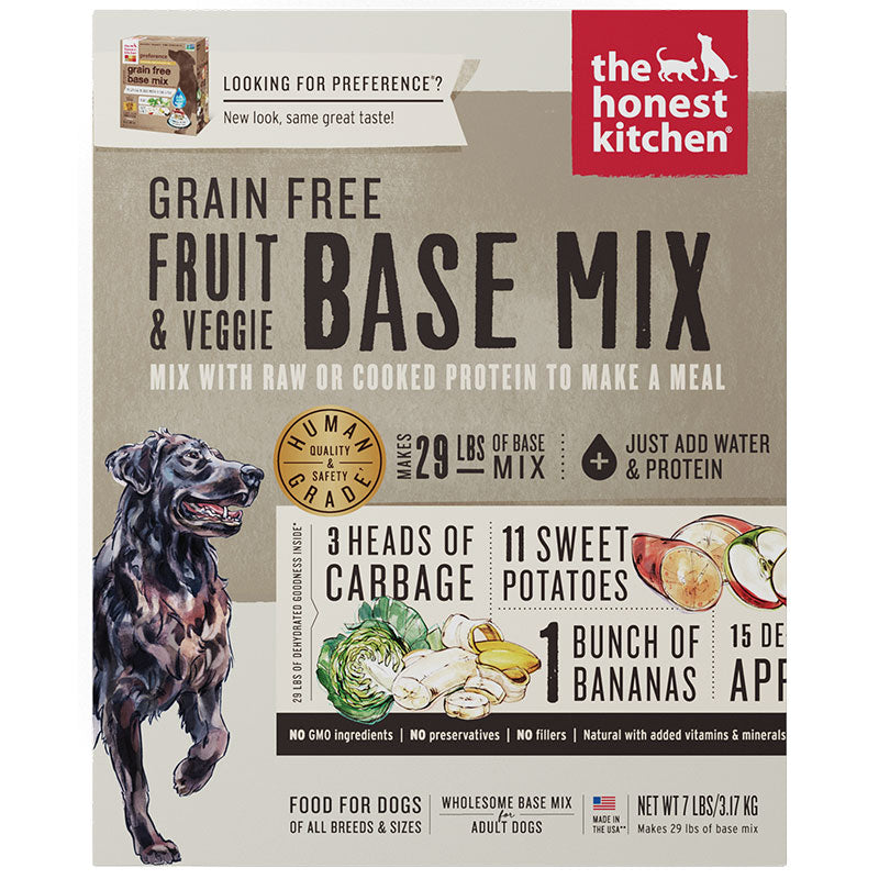 The Honest Kitchen Dog Grain Free Fruit & Veg 7lb Box