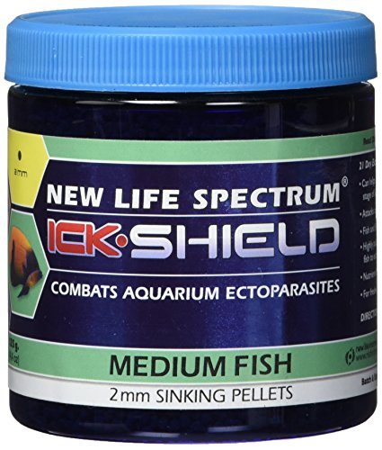 New Life Spectrum Ick Shield 2mm Sinking Pet Food, 125gm
