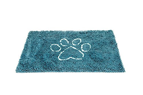 Dog Gone Smart Pet Products Dirty Dog Doormat, Medium, Pacific Blue