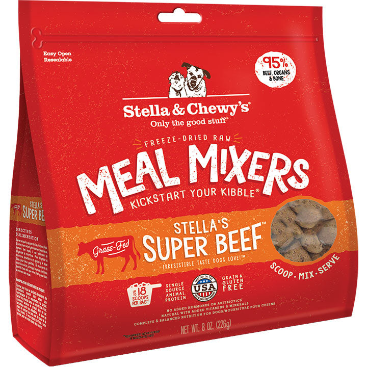 Stella & Chewy'S Dog Freeze-Dried Beef Mixers 8oz